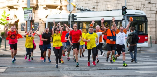 convention Budapest 2018 - running