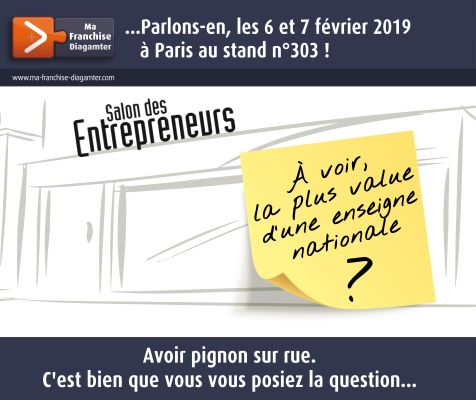 6-7 février 2019 Salon des entrepreneurs 476x400
